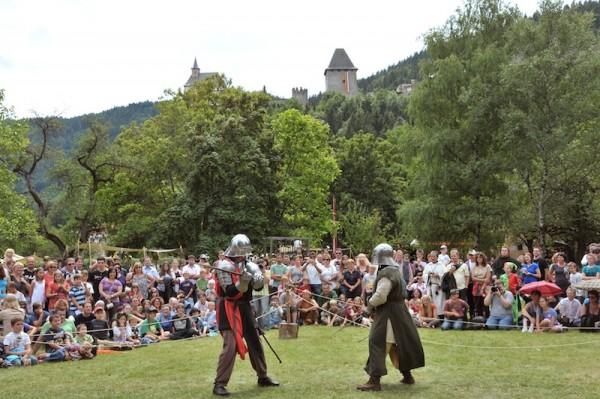Spectaculum Friesach Schwertkämpfe