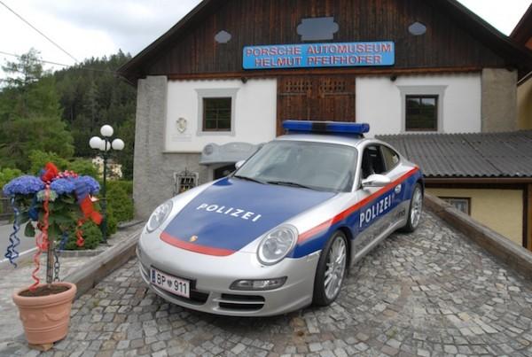 Polizeiporsche Automuseum Gmuend