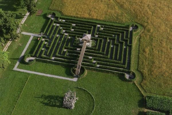 Tierpark Rosegg Labyrinth